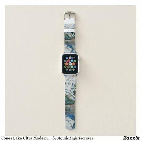 Jones Lake Ultra Modern White Apple Watch Band